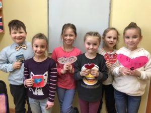 День святого Валентина в нашей школе
